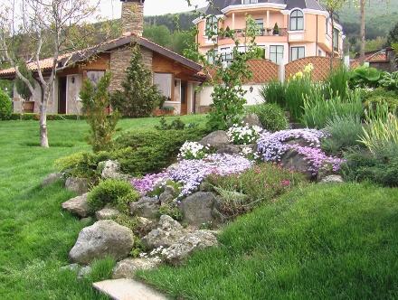 Пример за градина, озеленена от Градинари.БГ