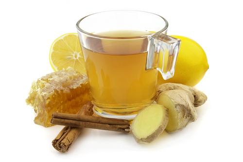 Чай - джинджифил и мед