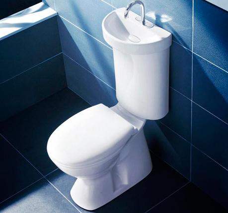 Тоалетна с мивка
